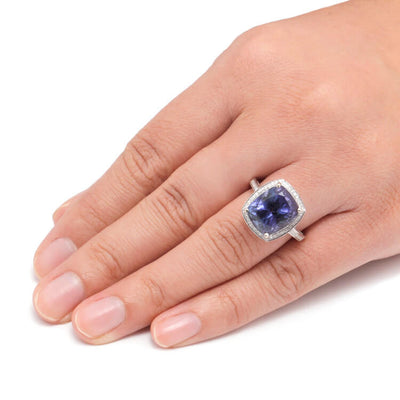 Tanzanite 14k White Gold Diamond_1587 (3)