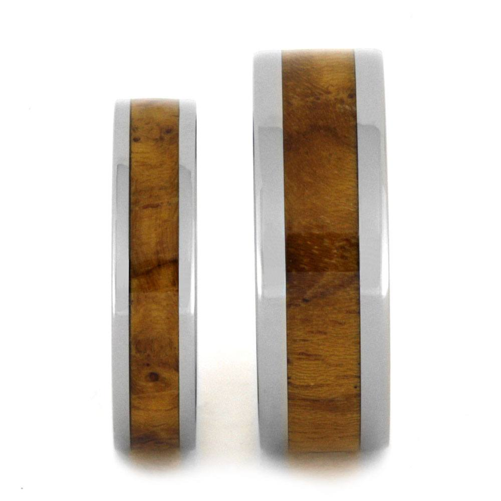of best wood teak blk wedding rings