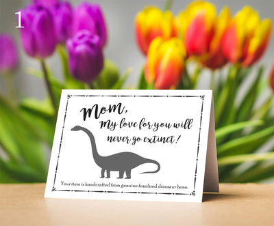 Mini Mother's Day Card, Three Message Options-SRV13 - Jewelry by Johan