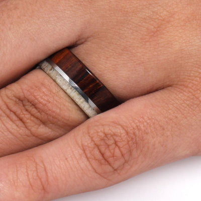 Men's Ring With Ironwood