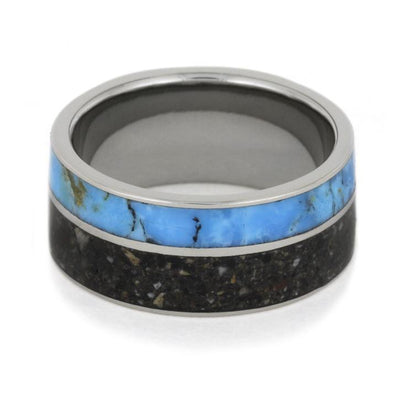 Pet Ashes Memorial Turquoise Titanium(6)