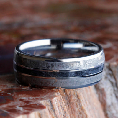 Onyx Wedding Band