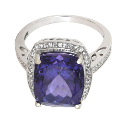 Tanzanite 14k White Gold Diamond_1587 (4)