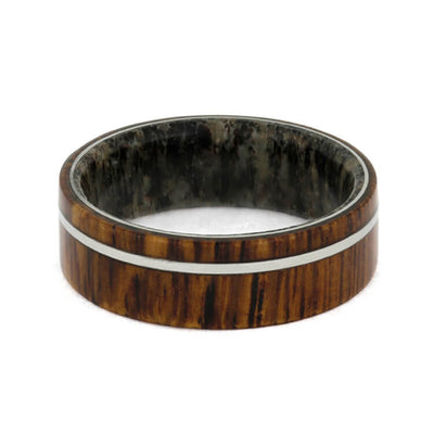 Men's Ring With Pinstripe