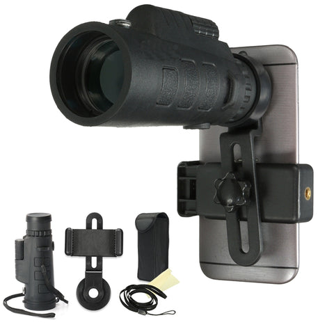 35x50 HD OPTICAL MONOCULAR TELESCOPE PHONE LENS