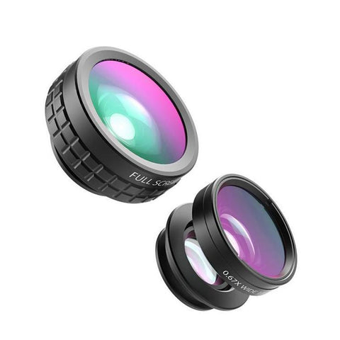 AUKEY MINI PHONE LENS 3 IN 1 (180º FISH EYE + 110º WIDE ANGLE + 10X MACRO)