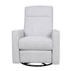 The Grove Manual Swivel Glider Recliner in Gray