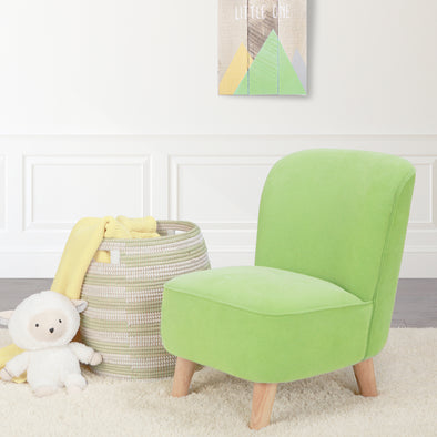 Juni Ultra Comfort Kids Chair in Green Apple