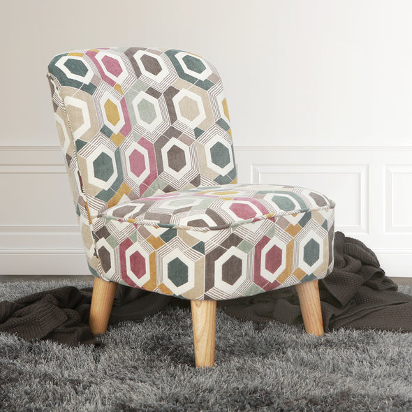 Juni Ultra Comfort Kids Chair in Prism