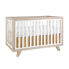 Wooster Convertible Crib in Almond and White