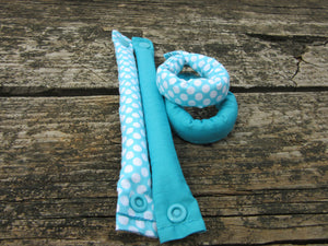 SINGLE Fabric Hair Rollers/Hair Curlers/Hair Accessories - My Easy Curls