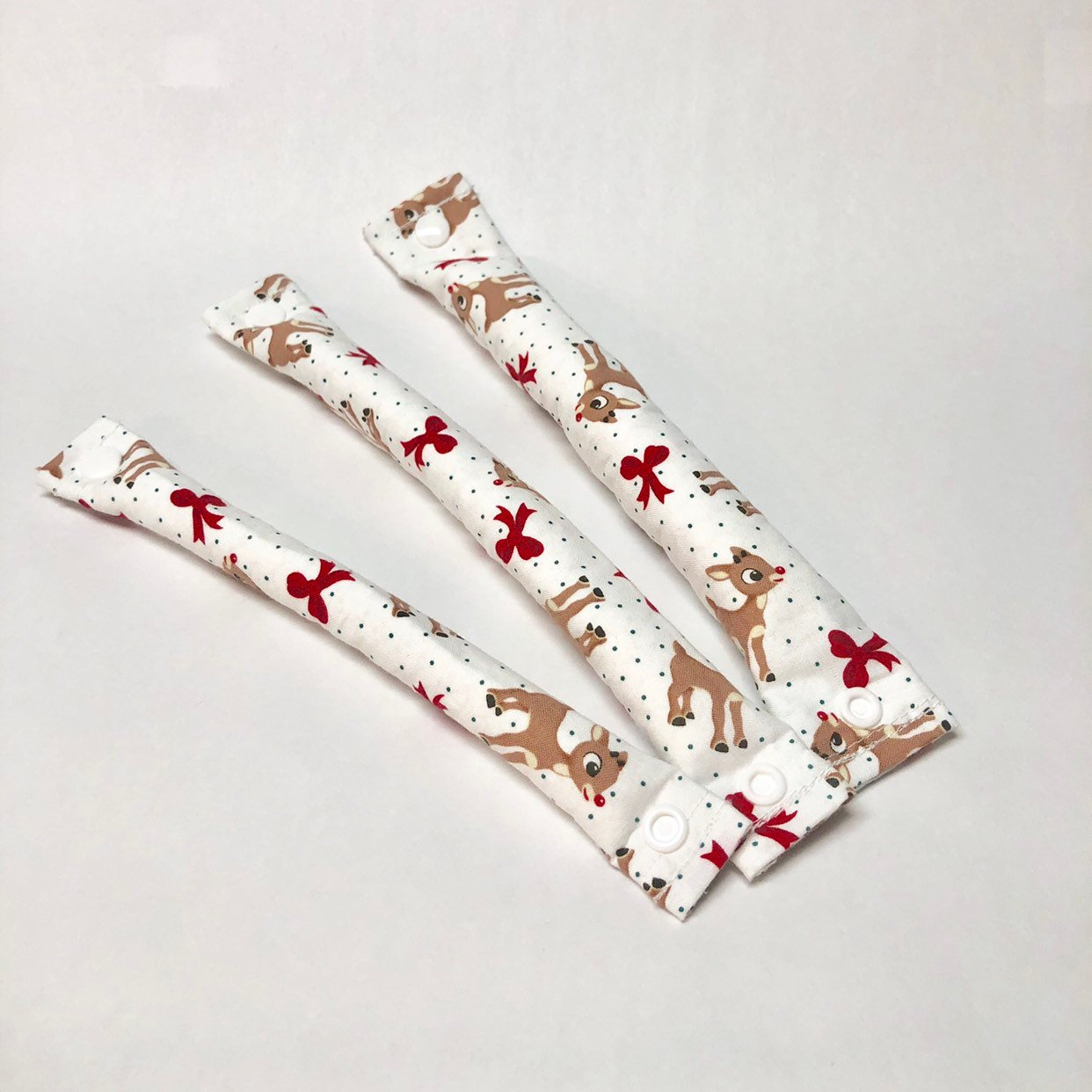Rudolph Fabric Hair Roller/  Fabric Hair Curler/ Fabric Hair Bun Maker - My Easy Curls