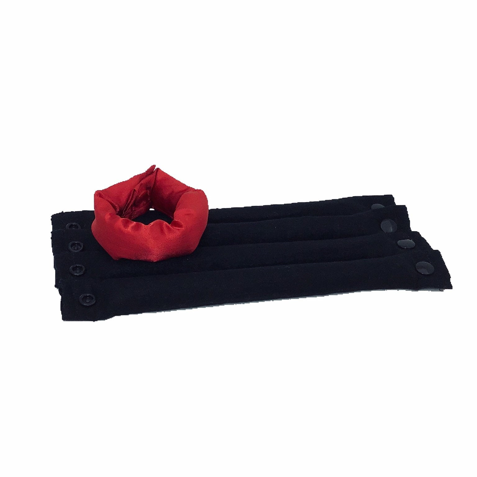 Thin Red Line Soft Fabric Hair Rollers/ Hair Accessories / Fabric Hair Curlers - My Easy Curls