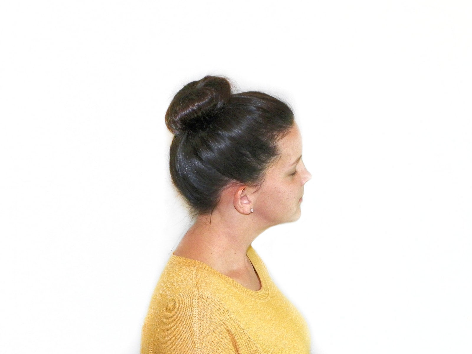 Sunflower Gold Hair Bun - Hair Donut - Hair trend - 1 Inch, extra long - My Easy Curls