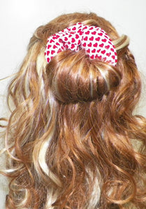 Nautical Themed Fabric Hair Bun Maker Set - Fabric Hair Accessory - My Easy Curls
