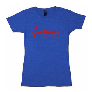 Rockbridge Logo Women's T-shirt - Blue