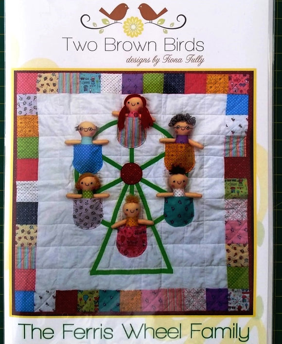 Ferris Wheel Family Wallhanging Play Quilt Pattern The Rainbow