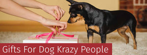 Gifts For Dog Crazy People. Wide range of dog themed gifts for dog lovers and dog owners.