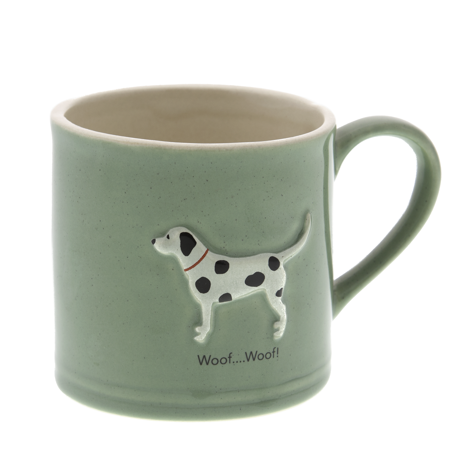 DogKrazy.Gifts – Bailey & Friends shabby chic Spotty Dog – 250ml Dalmatian coffee mug. Part of the Bailey & Friends range of mugs and all available from Dog Krazy Gifts