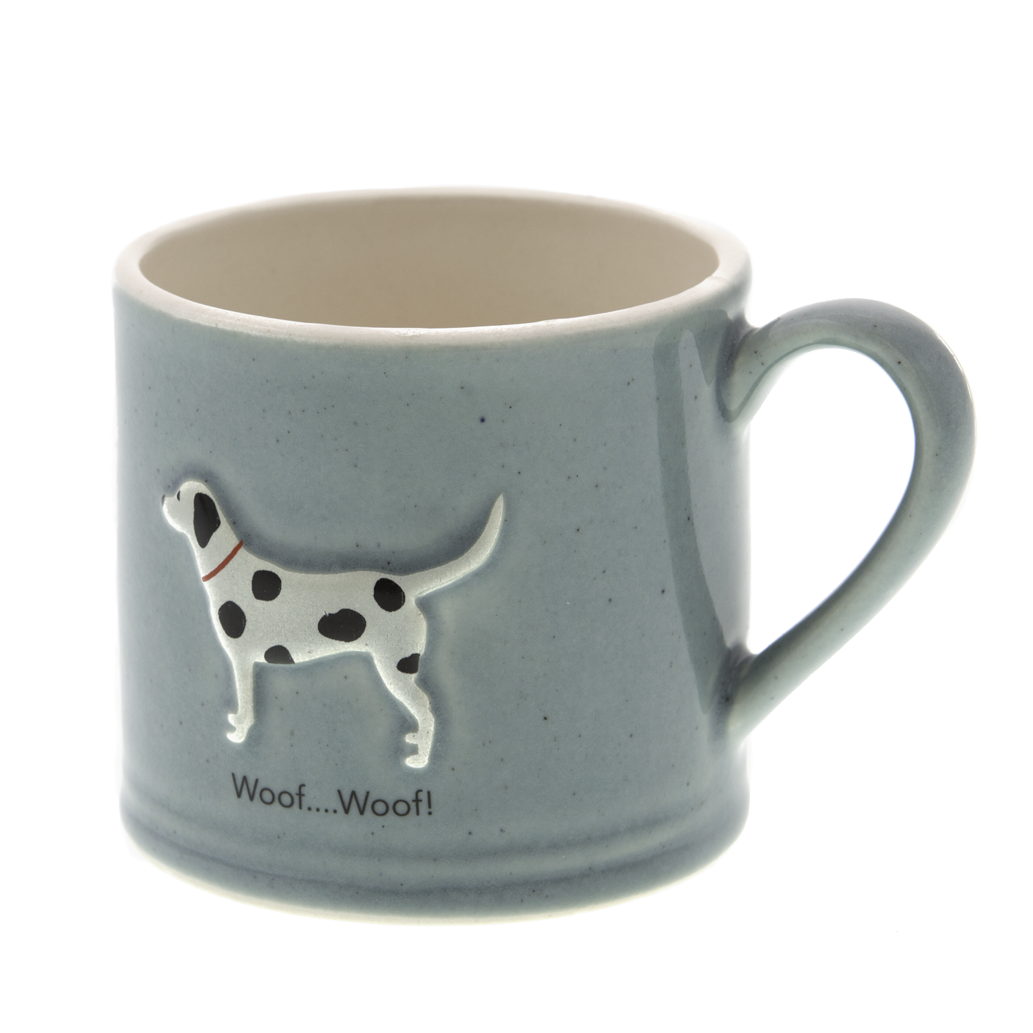 DogKrazy.Gifts – Bailey & Friends shabby chic Spotty Dog – 150ml Dalmatian espresso mug. Part of the Bailey & Friends range of mugs available from Dog Krazy Gifts
