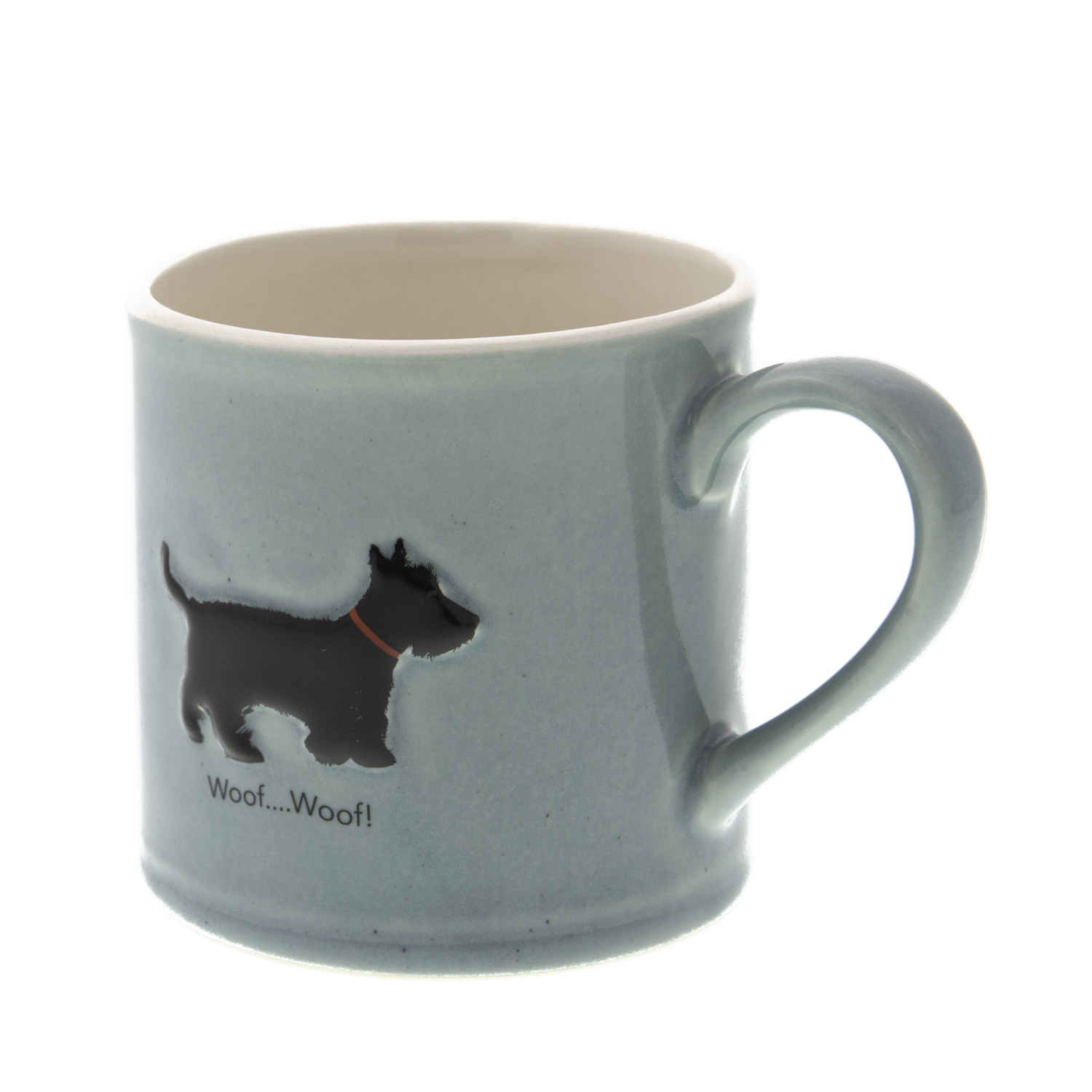 DogKrazy.Gifts – Bailey & Friends shabby chic Scottie Dog – 250ml Scottish Terrier coffee mug. Part of the Bailey & Friends range of mugs and all available from Dog Krazy Gifts