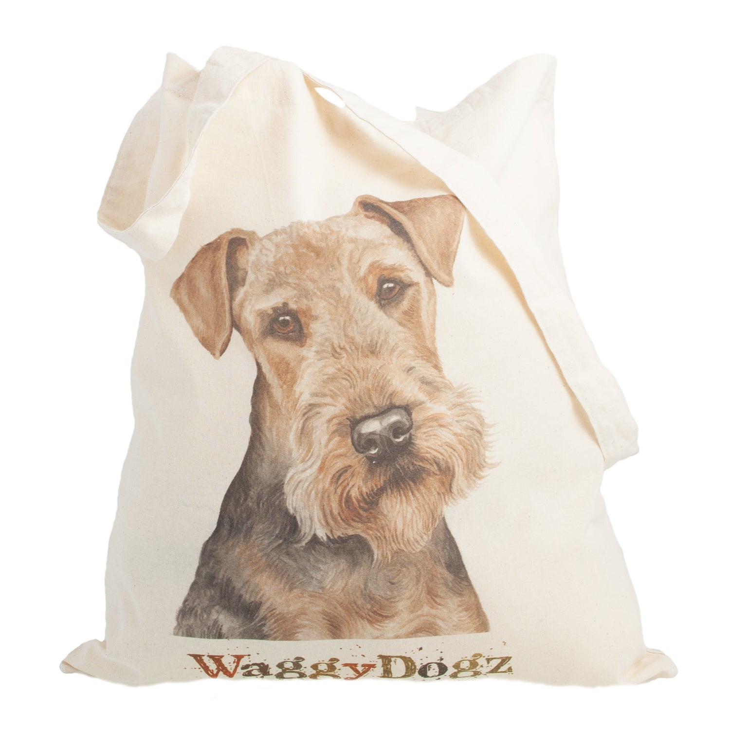 Dog Lover Gifts available at Dog Krazy Gifts. Airedale Tote Bag, part of our Christine Varley collection – available at www.dogkrazygifts.co.uk