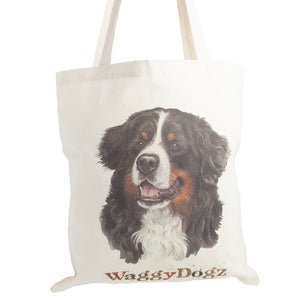 Dog Lover Gifts available at Dog Krazy Gifts. Bernese Mountain Dog Tote Bag, part of our Christine Varley collection – available at www.dogkrazygifts.co.uk