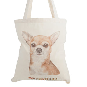 Dog Lover Gifts available at Dog Krazy Gifts. Chihuahua Tote Bag, part of our Christine Varley collection – available at www.dogkrazygifts.co.uk
