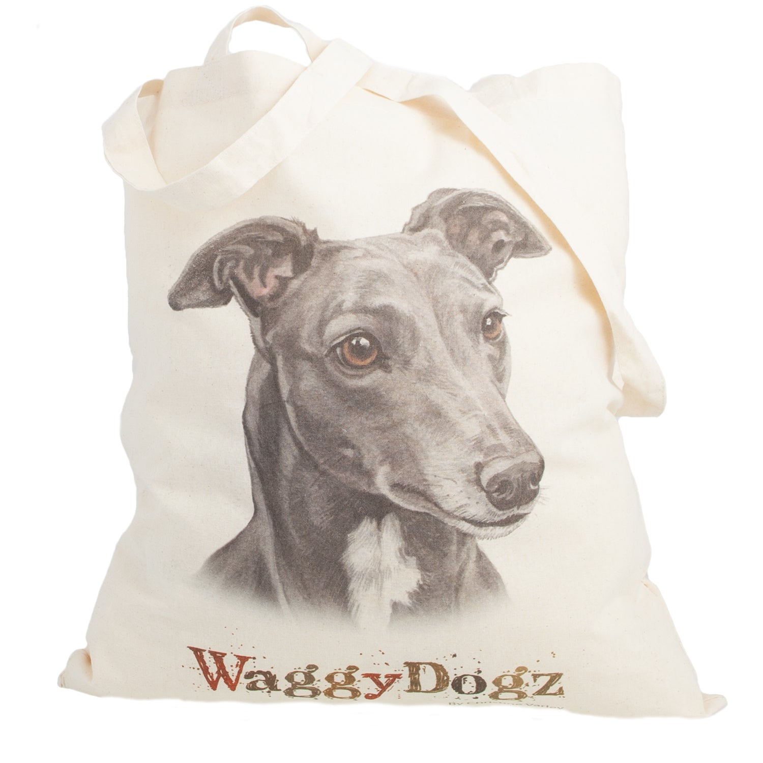 Dog Lover Gifts available at Dog Krazy Gifts. Greyhound Blue Tote Bag, part of our Christine Varley collection – available at www.dogkrazygifts.co.uk