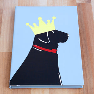 Dog Lover Gifts available at Dog Krazy Gifts - William The Black Labrador A5 Notepad - part of the Sweet William range available from DogKrazyGifts.co.uk