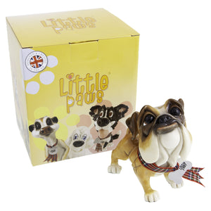 Dog Lover Gifts available at Dog Krazy Gifts - Mick The Bulldog - part of the Little Paws range available from DogKrazyGifts.co.uk