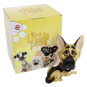 Dog Lover Gifts available at Dog Krazy Gifts - Argo The German Shepherd - part of the Little Paws range available from DogKrazyGifts.co.uk