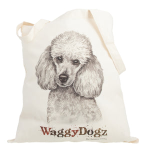 Dog Lover Gifts available at Dog Krazy Gifts. Poodle Tote Bag, part of our Christine Varley collection – available at www.dogkrazygifts.co.uk