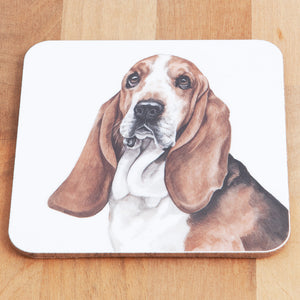 Dog Lover Gifts available at Dog Krazy Gifts Basset Hound Mug and Coaster set, part of our Christine Varley collection – available at www.dogkrazygifts.co.uk