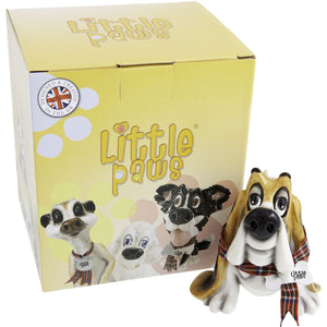 Dog Lover Gifts available at Dog Krazy Gifts - Bridget The Basset Hound - part of the Little Paws range available from DogKrazyGifts.co.uk
