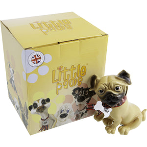 Dog Lover Gifts available at Dog Krazy Gifts - Podge The Pug - part of the Little Paws range available from DogKrazyGifts.co.uk
