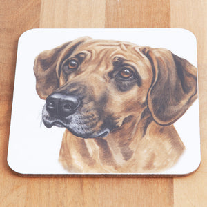 Dog Lover Gifts available at Dog Krazy Gifts - Rhodesian Ridgeback Mug and Coaster set, part of our Christine Varley collection – available at www.dogkrazygifts.co.uk