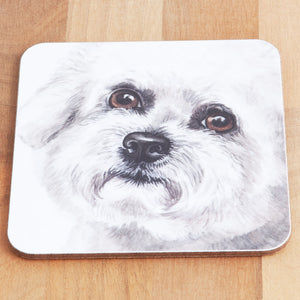 Dog Lover Gifts available at Dog Krazy Gifts Bichon Frise Mug and Coaster set, part of our Christine Varley collection – available at www.dogkrazygifts.co.uk