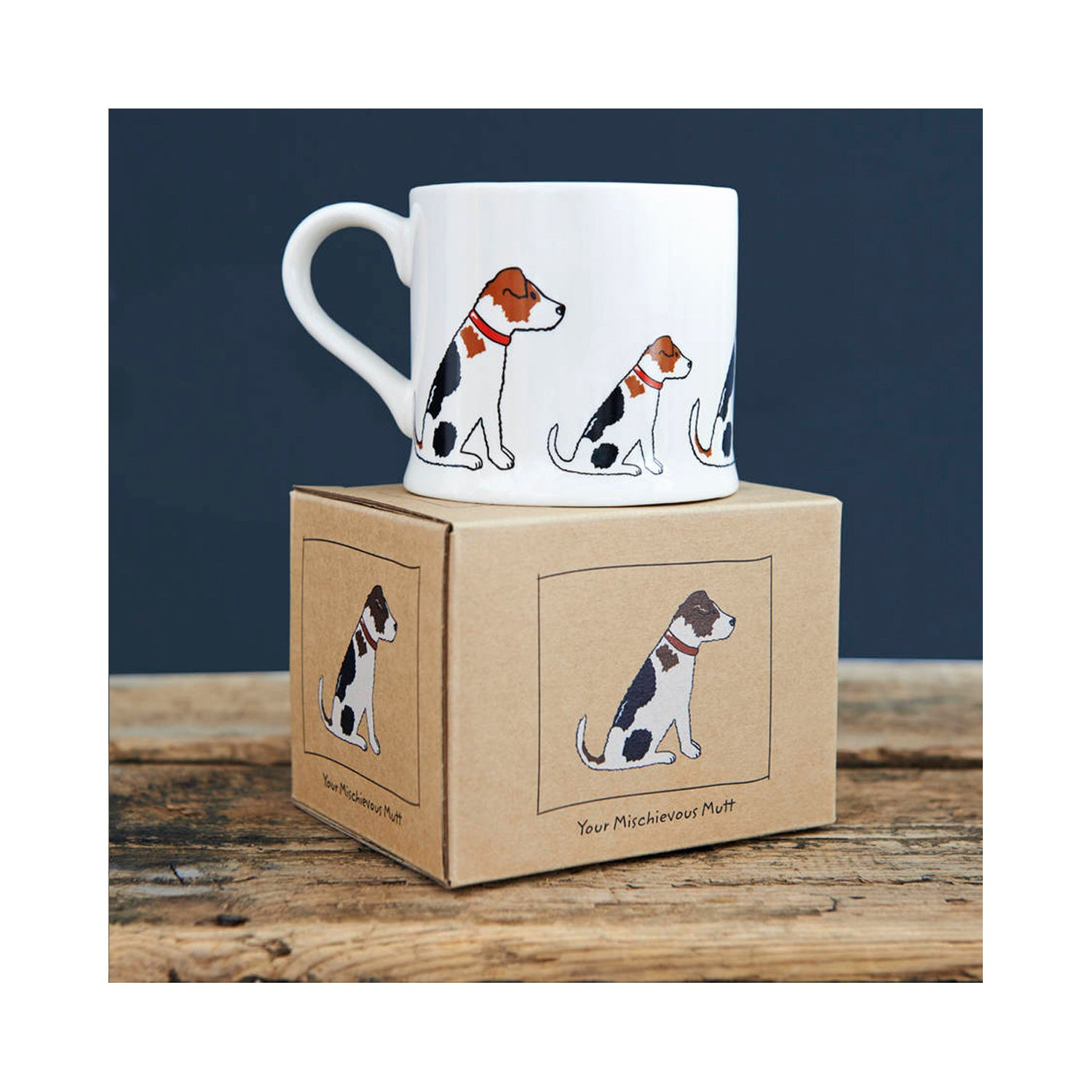 Dog Lover Gifts available at Dog Krazy Gifts - Alfie The Jack Russell Mug - part of the Sweet William range available from Dog Krazy Gifts