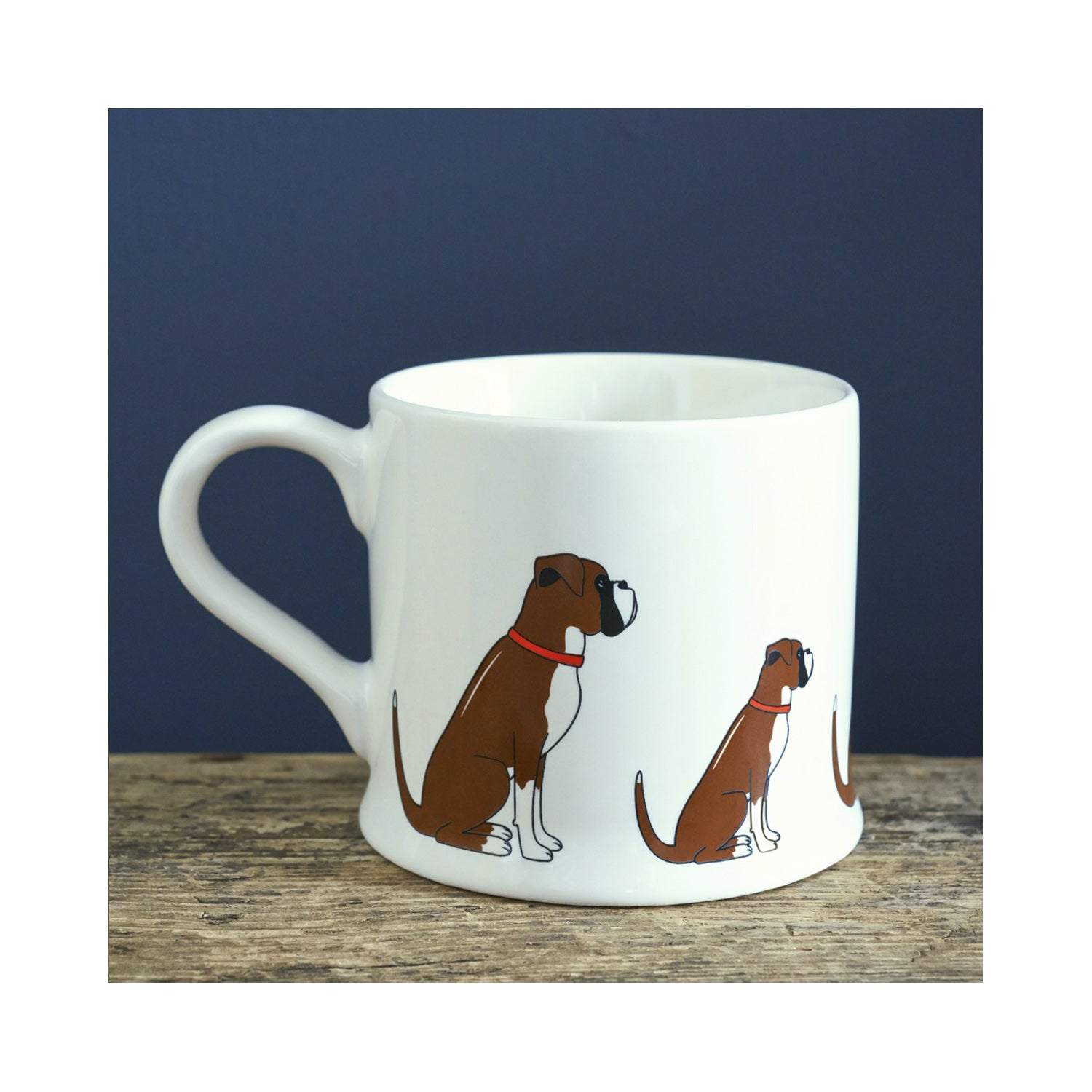 Dog Lover Gifts available at Dog Krazy Gifts - Archie The Boxer Dog Mug - part of the Sweet William range available from Dog Krazy Gifts