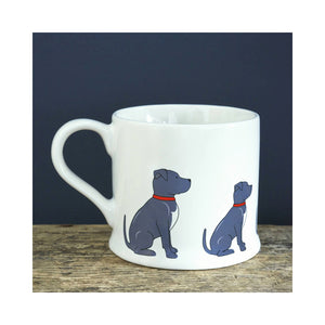 Dog Lover Gifts available at Dog Krazy Gifts - Bree The Staffordshire Bull Terrier Mug - part of the Sweet William range available from Dog Krazy Gifts