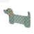 Dog Krazy Gifts - Dachshund Nail File - Green Spot, part of the range of Dachshund themed gifts available from DogKrazyGifts.co.uk