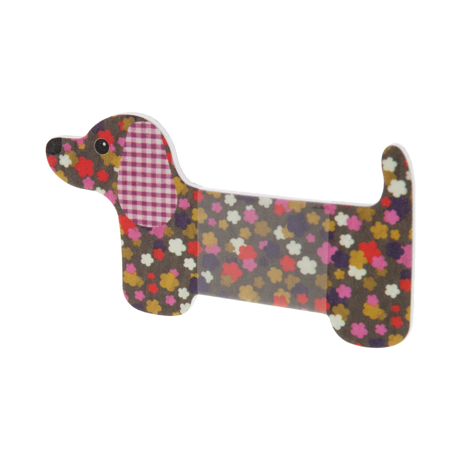 Dog Krazy Gifts - Dachshund Nail File - Autumnal, part of the range of Dachshund themed gifts available from DogKrazyGifts.co.uk