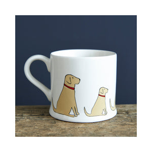 Dog Lover Gifts available at Dog Krazy Gifts - Daisy The Yellow Labrador Mug - part of the Sweet William range available from Dog Krazy Gifts