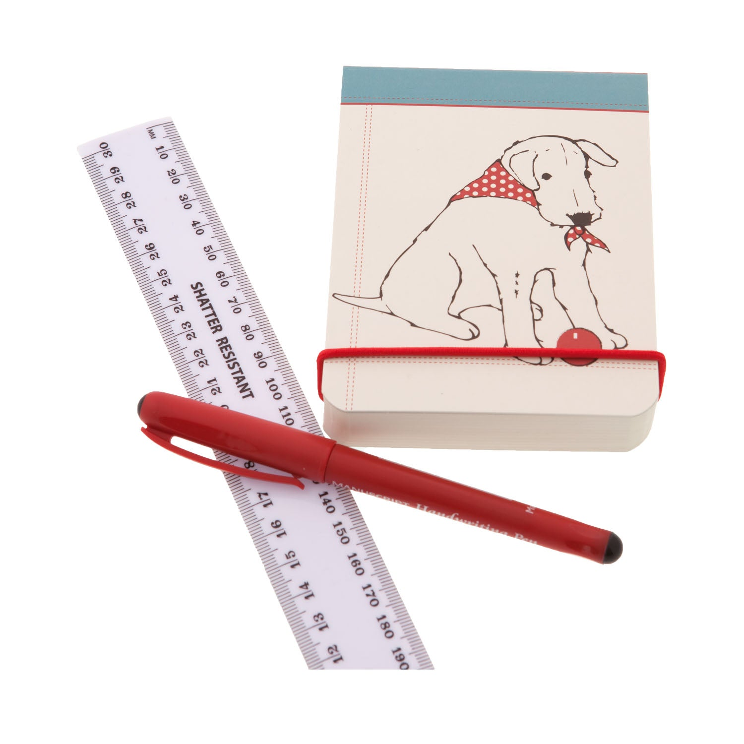 DogKrazyGifts - Douglas The Boy Wonder Flip Notepad - part of the Little Dog Range available from Dog Krazy Gifts