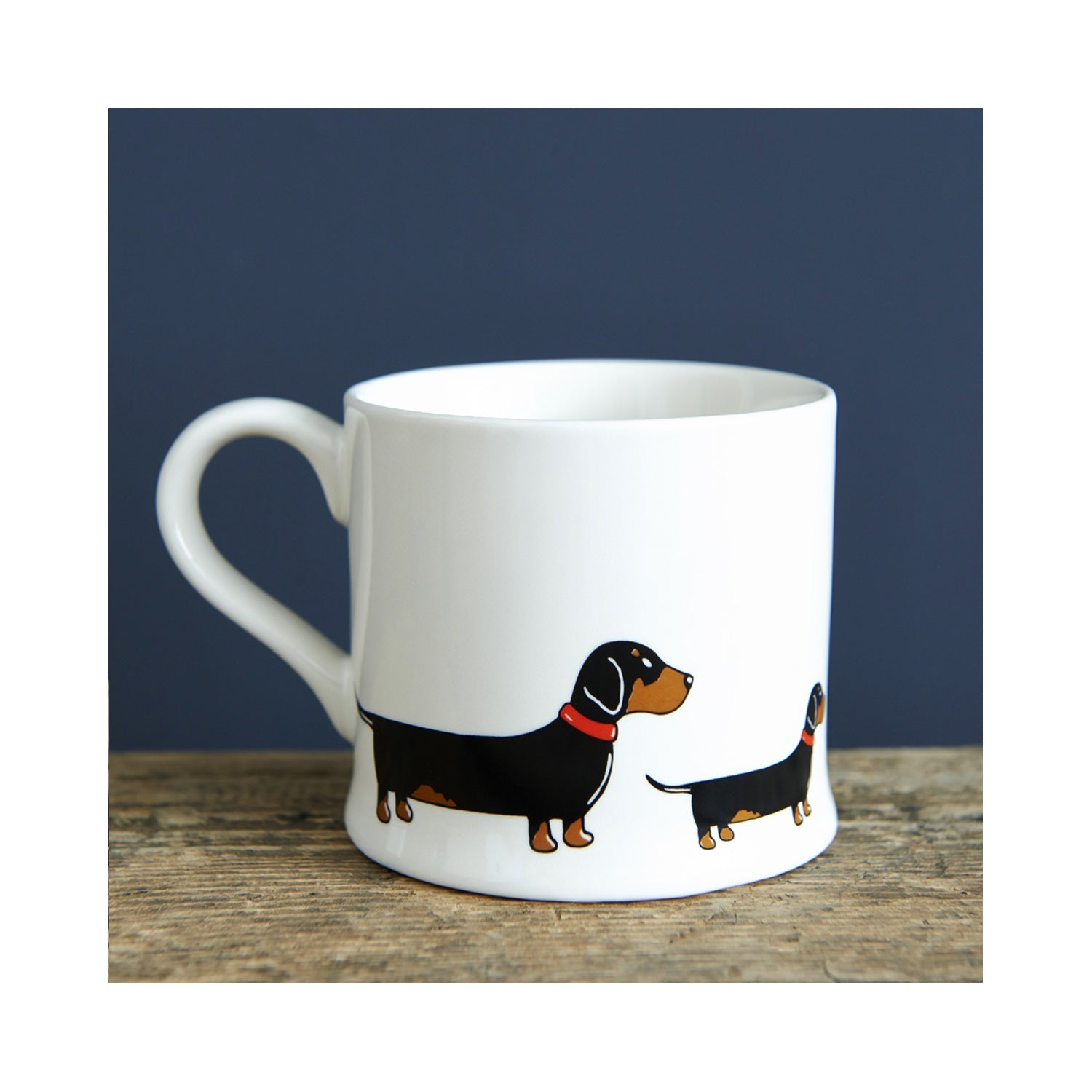 Dog Lover Gifts available at Dog Krazy Gifts - Florence The Dachshund Mug - part of the Sweet William range available from Dog Krazy Gifts