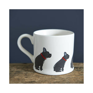 Dog Lover Gifts available at Dog Krazy Gifts - Freddie The French Bulldog Mug - part of the Sweet William range available from Dog Krazy Gifts