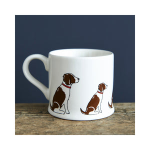 Dog Lover Gifts available at Dog Krazy Gifts - Gaby the Liver & White Springer Spaniel Mug - part of the Sweet William range available from Dog Krazy Gifts