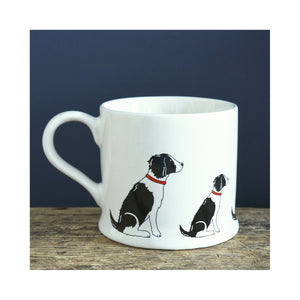 Dog Lover Gifts available at Dog Krazy Gifts - George The Black and White Springer Spaniel Mug - part of the Sweet William range of gifts for dog lovers available from Dog Krazy Gifts