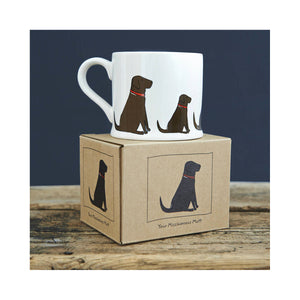 Dog Lover Gifts available at Dog Krazy Gifts - Grace The Chocolate Labrador Mug by Sweet William - part of the Labrador collection of Dog Lovers Gifts available from Dog Krazy Gifts